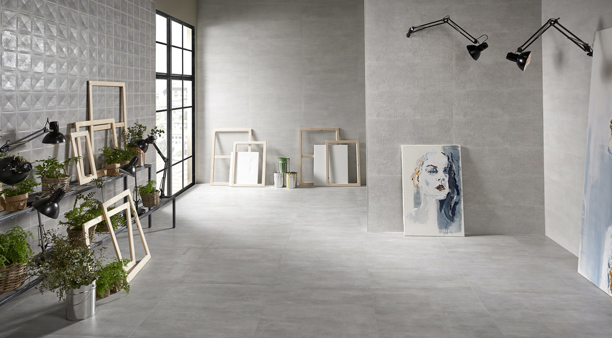 keraben frame blanco art blanco concept cemento 30x90 cemento 75x75