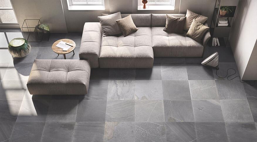 emil ceramica tracce dark grey 60x60