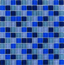 Agrob Buchtal Tonic blauw mix 30x30cm 069864