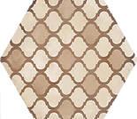 Marca Corona Terra Coloniale Esagona vers. C 21.6x25cm 0411