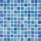 Jasba M2 sky blue 2x2cm 2495H